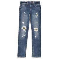 Vêtements Garçon Jeans slim Guess PERNOLA Bleu
