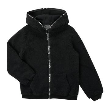 Vêtements Garçon Blousons Guess THERRA Noir