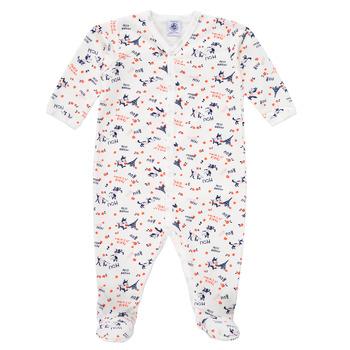 Vêtements Fille Pyjamas / Chemises de nuit Petit Bateau LEA Multicolore