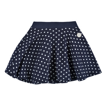 Vêtements Fille Jupes Petit Bateau JOPILA Bleu / Blanc