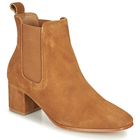 Chaussures Femme Bottes ville Levi's DELILAH CHELSEA Marron
