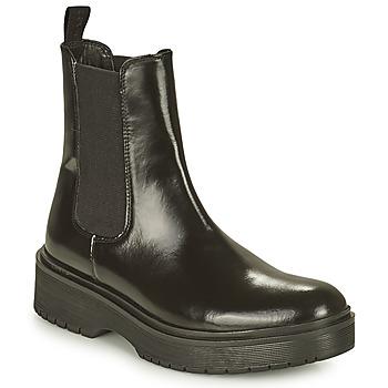 Chaussures Femme Boots Levi's LENNA HI Noir