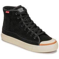 Chaussures Homme Baskets montantes Levi's SQUARE HIGH Noir