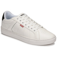 Chaussures Homme Baskets basses Levi's JIMMY Blanc