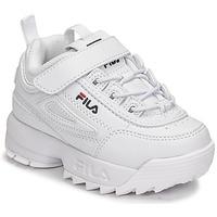 Chaussures Enfant Baskets basses Fila DISRUPTOR INFANTS Blanc