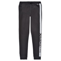 Vêtements Garçon Pantalons de survêtement Calvin Klein Jeans RESPIRA Noir