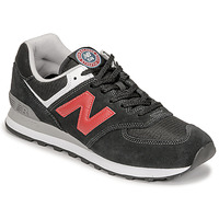 Chaussures Homme Baskets basses New Balance 574 Noir / Rouge