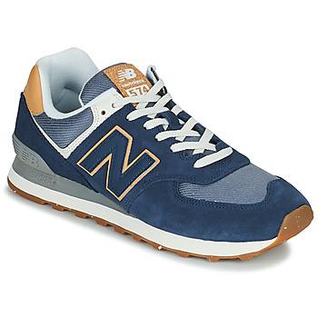Chaussures Homme Baskets basses New Balance 574 Bleu