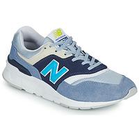Chaussures Femme Baskets basses New Balance 997 Blanc / Bleu