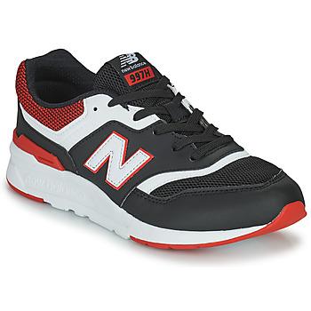 Chaussures Garçon Baskets basses New Balance 997 Noir / Rouge