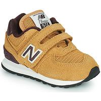 Chaussures Garçon Baskets basses New Balance 574 Marron