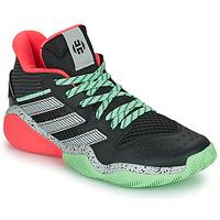Chaussures Basketball adidas Performance HARDEN STEPBACK Noir / Gris / vert