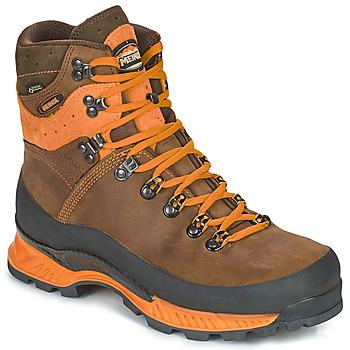 Chaussures Homme Randonnée Meindl ISLAND MFS ROCK Brun / Orange