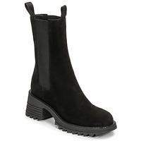 Chaussures Femme Bottines Mimmu CAMOSCIO Noir