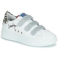 Chaussures Femme Baskets basses Semerdjian BARRY Blanc / Argenté