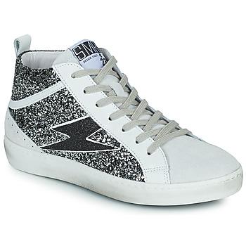 Chaussures Femme Baskets montantes Semerdjian ALFA Beige / Noir