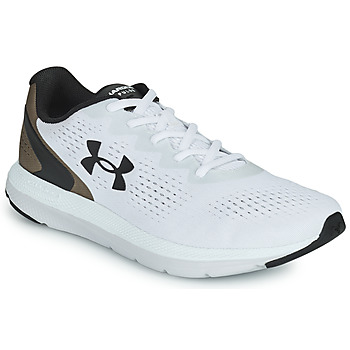 Chaussures Homme Running / trail Under Armour CHARGED IMPULSE 2 Blanc / Marron