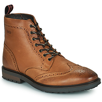 Chaussures Homme Boots Base London THORNE Cognac