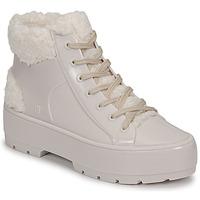 Chaussures Femme Boots Melissa MELISSA FLUFFY SNEAKER AD Beige/Blanc
