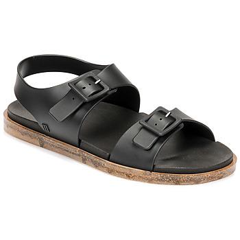 Chaussures Femme Sandales et Nu-pieds Melissa MELISSA WIDE SANDAL AD Noir