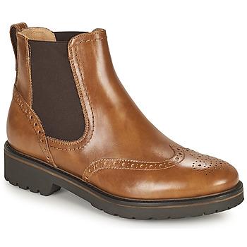 Chaussures Femme Boots NeroGiardini ARTICHO Cognac