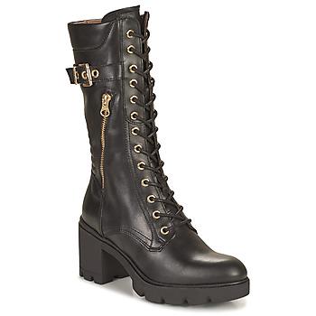 Chaussures Femme Bottes ville NeroGiardini CHAMPIGNO Noir