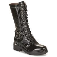 Chaussures Femme Bottes ville NeroGiardini COURGO Noir