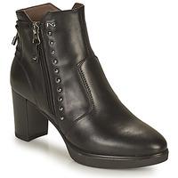 Chaussures Femme Bottines NeroGiardini DACHINO Noir