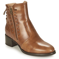 Chaussures Femme Bottines NeroGiardini ENDIVO Cognac