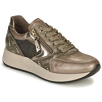 Chaussures Femme Baskets basses NeroGiardini GIROMONO Doré
