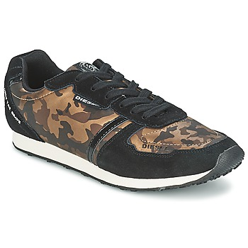 Chaussures Femme Baskets basses Diesel CAMOUFLAGE MARRON