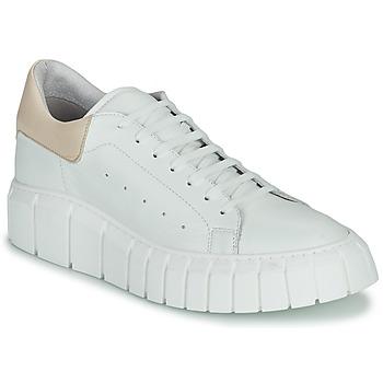 Chaussures Femme Baskets basses Sweet Lemon PLANTO Blanc / Beige