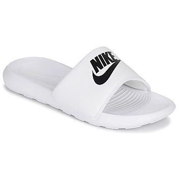 Chaussures Femme Claquettes Nike VICTORI ONE Blanc