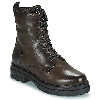 Chaussures Femme Boots Mjus DOBLE LACE Gris Foncé
