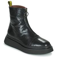 Chaussures Femme Boots Mjus BASE ZIP Noir