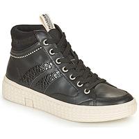Chaussures Femme Baskets montantes Palladium Manufacture TEMPO 03 SYN Noir