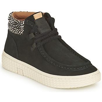 Chaussures Femme Baskets montantes Palladium Manufacture TEMPO 10 SUD Noir