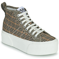 Chaussures Femme Baskets montantes No Name IRON MID Marron