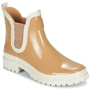 Chaussures Femme Bottes de pluie Armistice DROP BEETLE W Beige