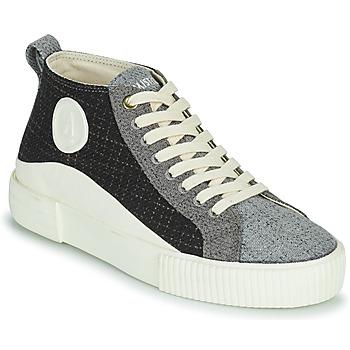 Chaussures Femme Baskets montantes Armistice FOXY MID LACE W Noir