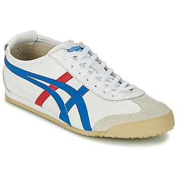 Chaussures Air max tnBaskets basses Onitsuka Tiger MEXICO 66 Blanc / bleu / rouge