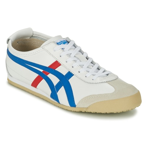 Chaussures Baskets basses Onitsuka Tiger MEXICO 66 Blanc / bleu / rouge