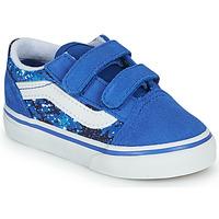 Chaussures Garçon Baskets basses Vans OLD SKOOL Bleu