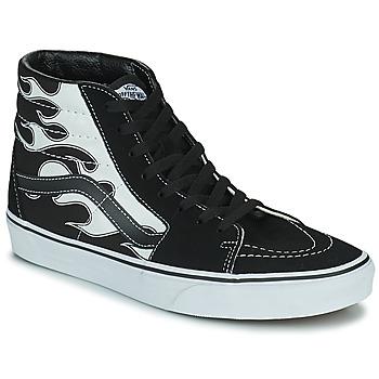 Chaussures Homme Baskets montantes Vans SK8-HI Noir / Gris