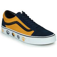 Chaussures Baskets basses Vans OLD SKOOL Bleu / Jaune