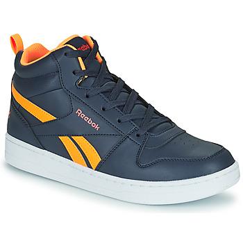 Chaussures Enfant Baskets montantes Reebok Classic REEBOK ROYAL PRIME Marine / Orange