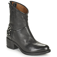 Chaussures Femme Boots Airstep / A.S.98 OPEA STUDS Noir
