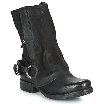Chaussures Femme Boots Airstep / A.S.98 SAINT EC Noir