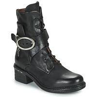 Chaussures Femme Bottines Airstep / A.S.98 NOVASUPER LACE Noir