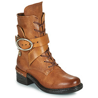 Chaussures Femme Bottines Airstep / A.S.98 NOVASUPER LACE Camel